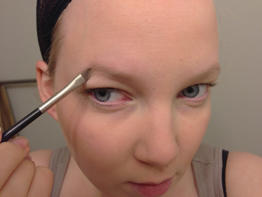 how to make your eyebrows stay on all day