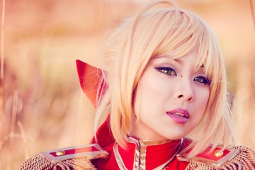 Saber Fate Extra Cosplay