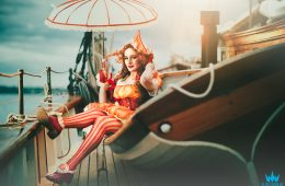 Sailboat Cosplay Photoshoot