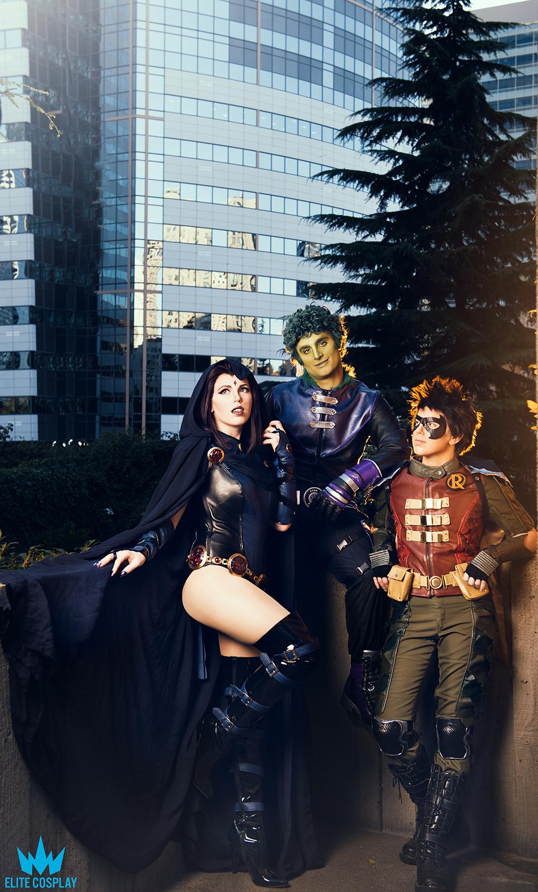 Teen Titans Cosplay
