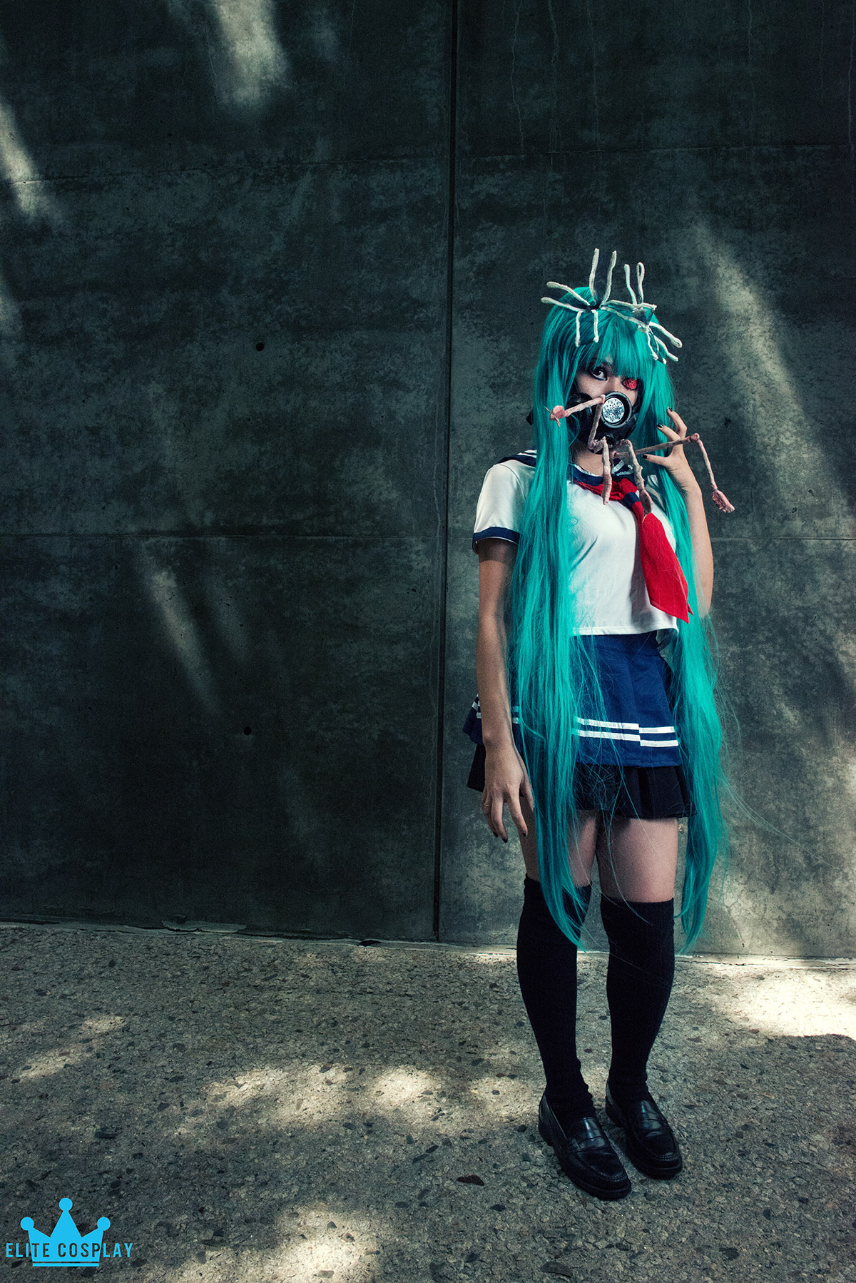Bacterial Contamination Miku Cosplay