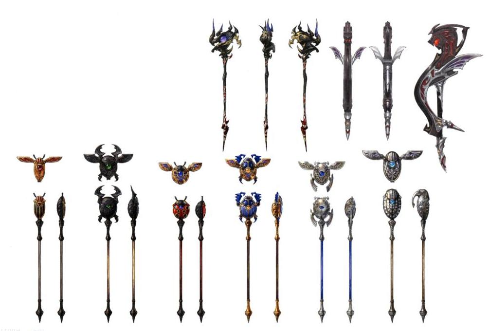 Thaumaturge Weapons