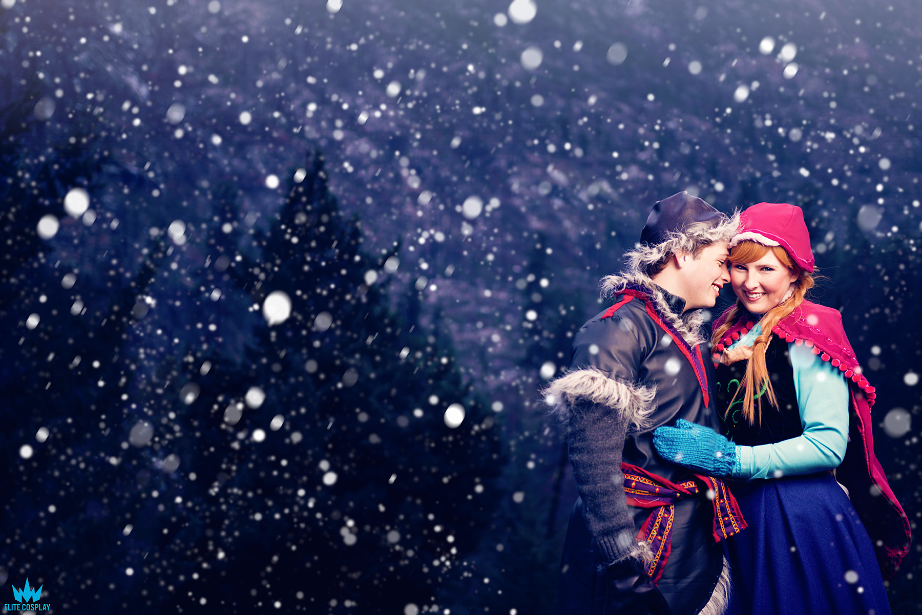 Kristoff and Anna Cosplay