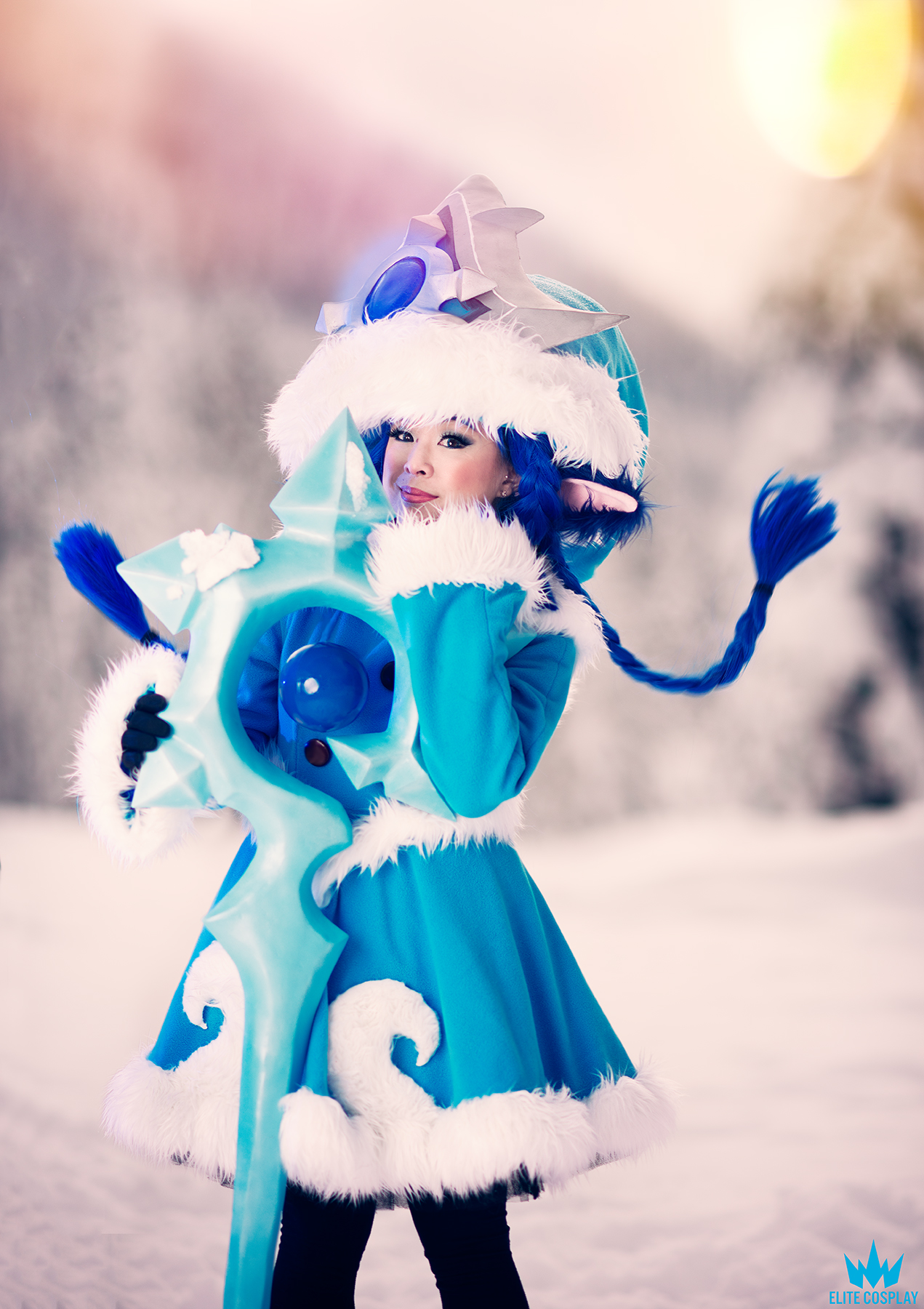 Winter Wonder Lulu Cosplay