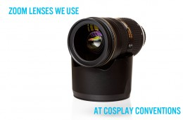 Best lenses for cosplay photography
