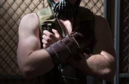 Male cosplay posing
